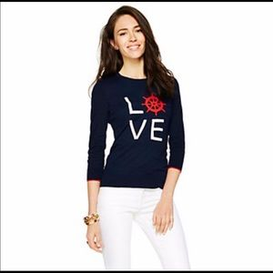 C. Wonder Intarsia Love Anchor Sweater Size XS